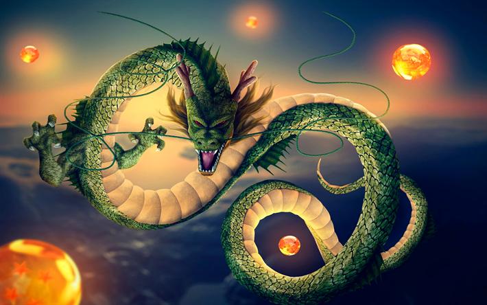 Télécharger Fonds Décran Dragon Des Boules De Feu Art 3d