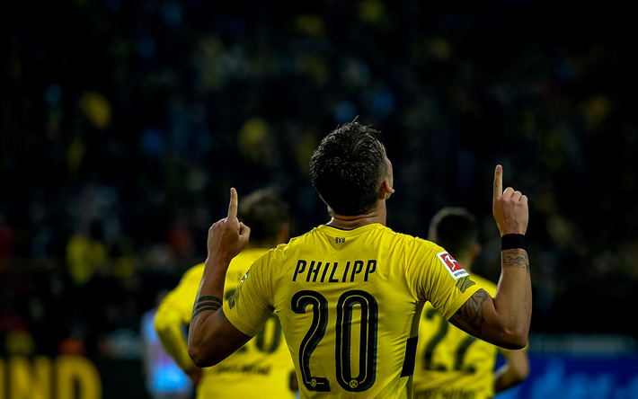 Download Wallpapers Maximilian Philipp Bvb Footballers Borussia