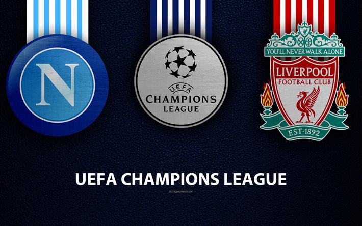 Herunterladen Hintergrundbild Napoli Fc Vs Liverpool Fc 4k