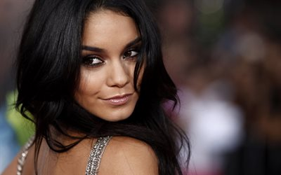 Vanessa Hudgens, portrait, face, smile, american actress, photoshoot, Hollywood, USA