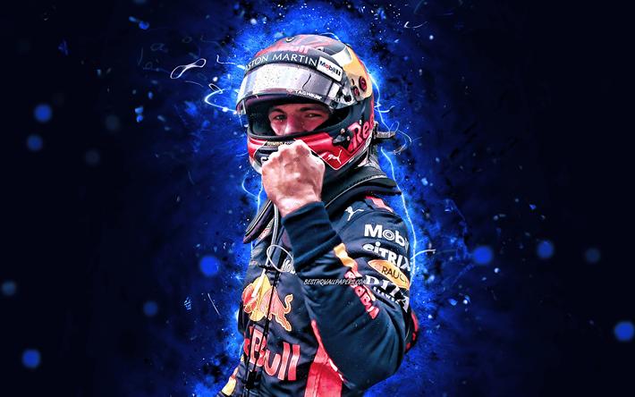 Max Verstappen, 4k, Formula 1