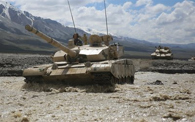 ZTZ-99, Type 99, Chinese main battle tank, tanks in the mountains, modern tanks
