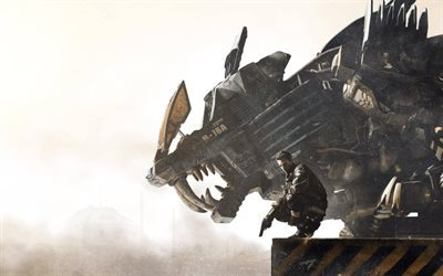 Zoids Field of Rebellion, 2016, action, poster