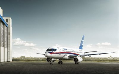 Sukhoi Superjet 100, airliner, Russia, Russian aircraft