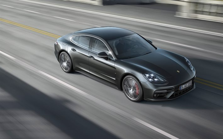 Porsche Panamera Turbo S 2017 New Gray
