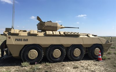 FNSS Pars, Pars 8x8, Turkish armored combat vehicle, Turkey, modern armored vehicles