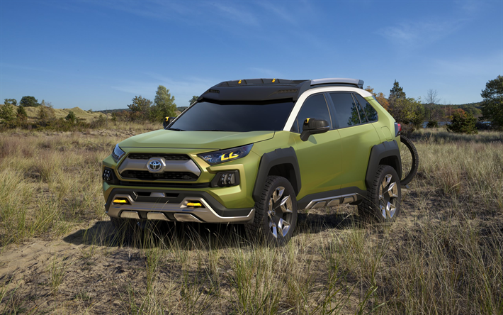 Toyota FT-AC, 2017, new SUV, Japanese cars, Adventure Concept, Toyota