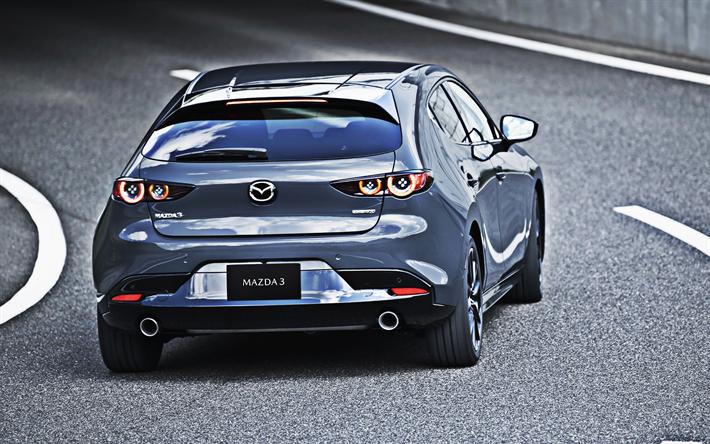 Mazda 3 Sport >> Lataa Kuva 2019 Mazda 3 Takaa Katsottuna Farmari Uusi