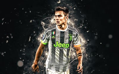 Paulo Dybala, Juventus FC, Bianconeri, 2019, football stars, argentinian footballers, new uniform, Dybala, soccer, Serie A, Italy, Juve