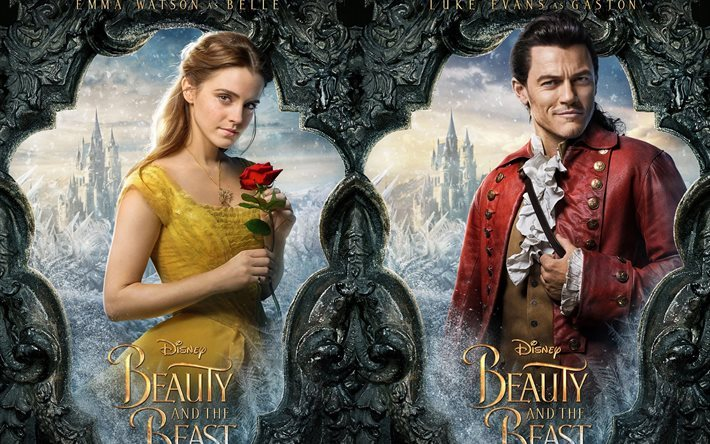 Download Wallpapers Beauty And The Beast 2017 Disney Emma