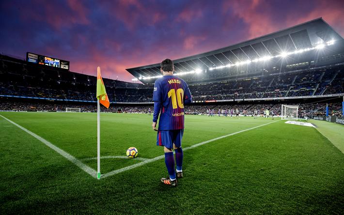 Fondos De Pantalla Camp Nou España El Fc Barcelona: Descargar Fondos De Pantalla Lionel Messi, De Barcelona