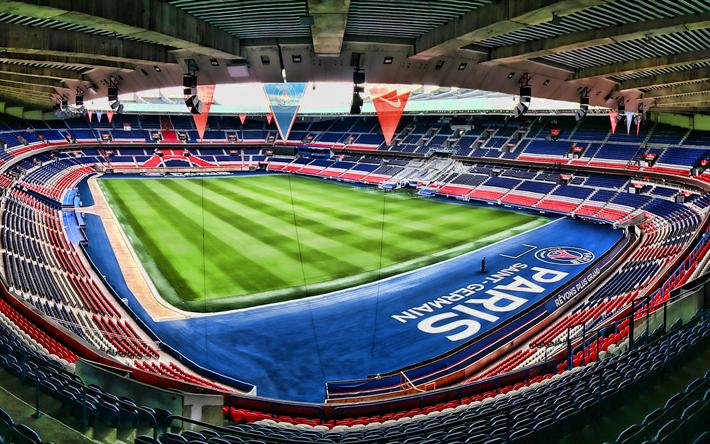 Download Wallpapers Parc Des Princes Hdr Empty Stadium Stade Des Lumieres Paris Saint Germain Fc Psg Stadium French Stadiums Paris France For Desktop Free Pictures For Desktop Free