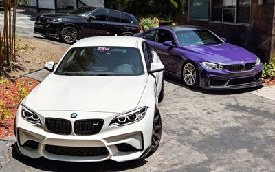 BMW M4, BMW X5, 2016 cars, F85, F82, german cars, tuning, BMW