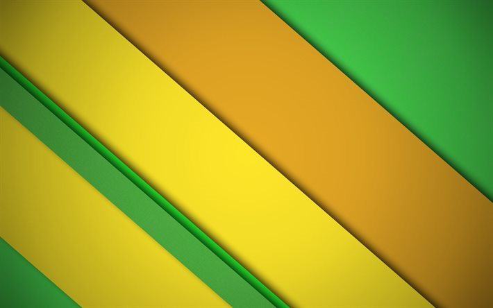 abstract lines, material, yellow lines, green lines