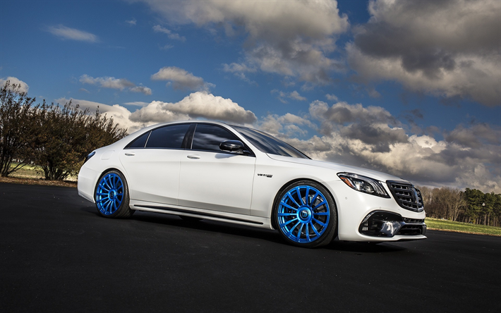 Thumb Mercedes Benz S Class W Tuning W White New S Class