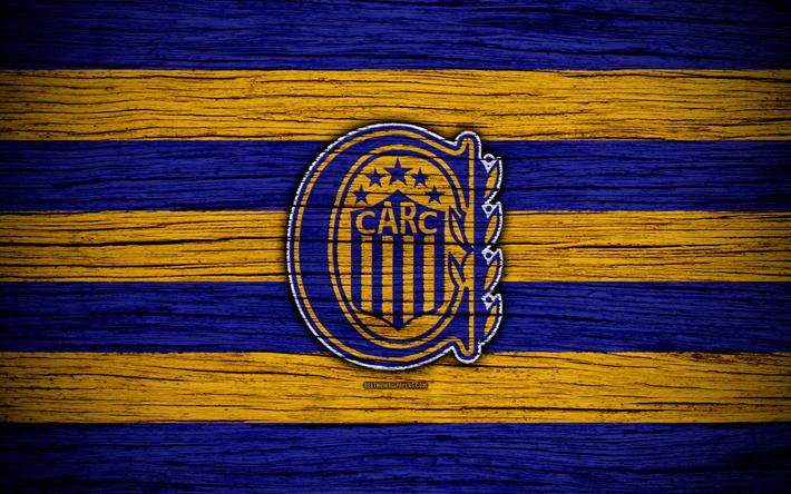 Download Wallpapers Rosario Central 4k Superliga Logo Aaaj