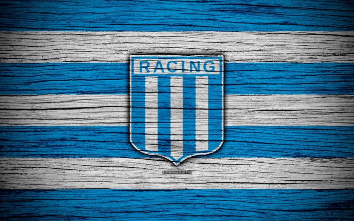 Download Wallpapers Racing 4k Superliga Logo Aaaj Argentina