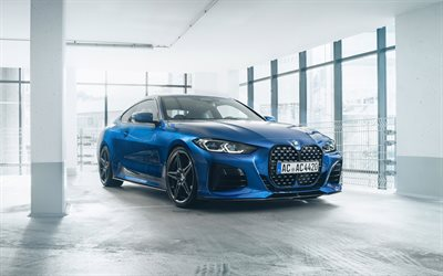 2021, AC Schnitzer ACS4, 4k, front view, exterior, BMW Z4 G29 Roadster, new blue BMW Z4, blue G29, German cars, BMW