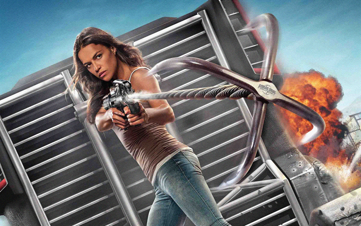 Download Wallpapers Letty 4k F9 2020 Movie Fast And Furious 9