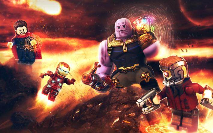Descargar fondos de pantalla 4k thanos iron man capit n - Descargar infinity war ...