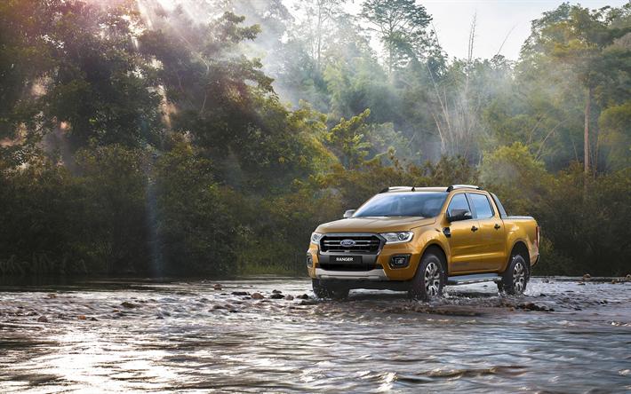 Descargar Fondos De Pantalla Ford Ranger Wildtrak 2018