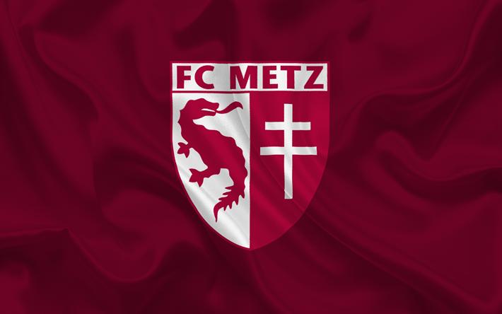 Download wallpapers FC Metz, Football club, France, emblem, Metz ...