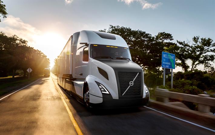 Descargar fondos de pantalla volvo vnl 2017 estados unidos la entrega el volvo trucks sueco - Volvo vnl wallpaper ...