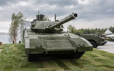 T-14, Armata, modern Russian main tank, Object 148, modern armored vehicles, tanks, Russia