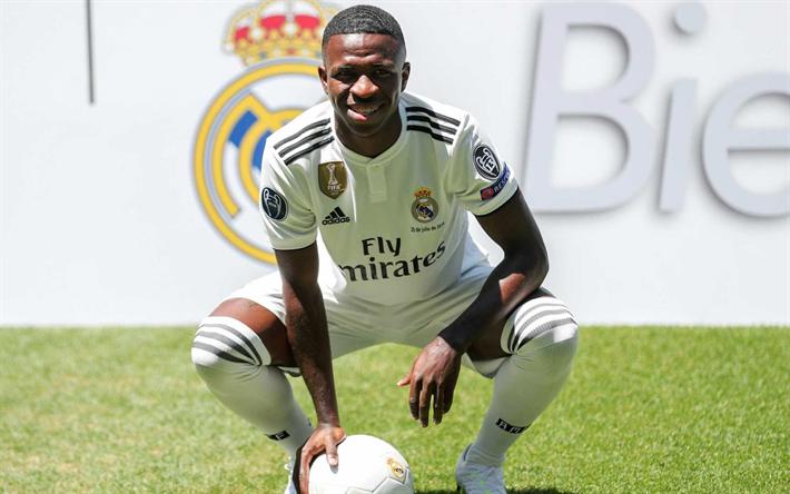 b693eea66 Vinicius صغار, البرازيلي لاعب كرة القدم, ريال مدريد, إلى الأمام, الدوري,