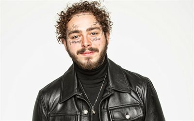 Post Malone, retrato, sessão de fotos, Austin Richard Post, Cantora norte-americana, cantores populares