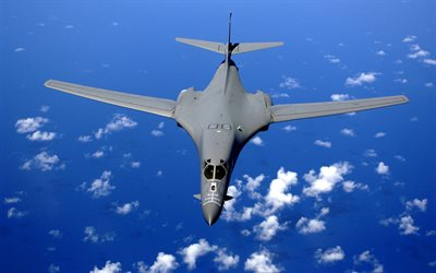 Rockwell B-1 Lancer, combat aircraft, bomber, B1-B Bomber, US Army, Rockwell International