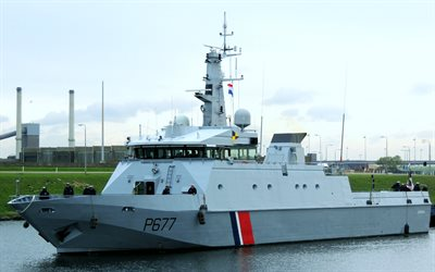 P677 Cormoran, Patrol boat, Flamant-class patrol vessel, French Navy, French military boats