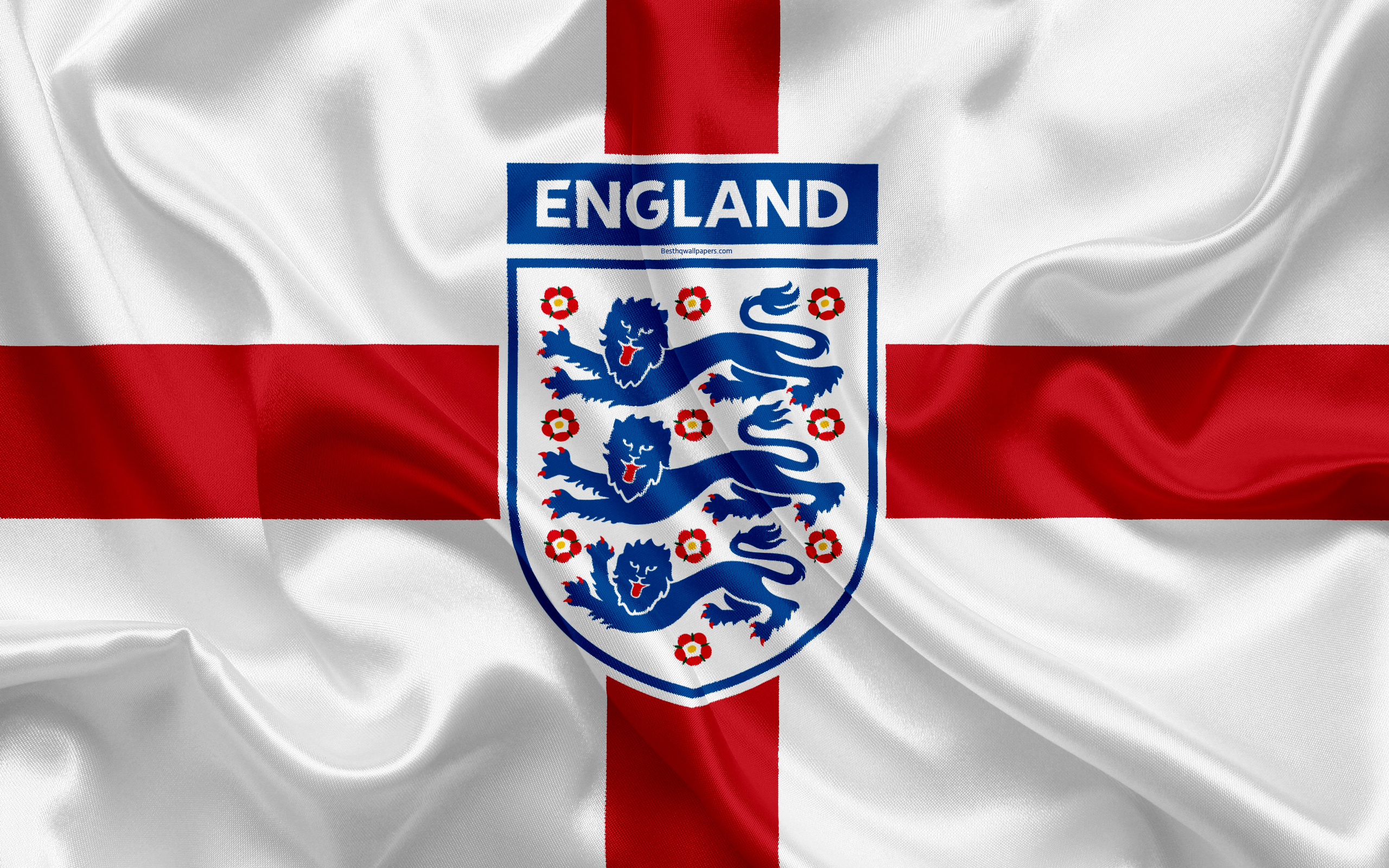 download wallpapers england national football team emblem
