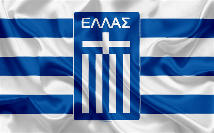 Download wallpapers greece national football team emblem logo football federation flag - Greek flag wallpaper ...
