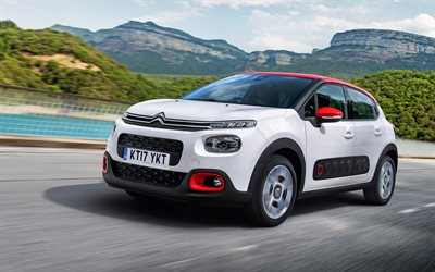 download wallpapers citroen c3 aircross 2018 cars crossovers new c3 french cars citroen for. Black Bedroom Furniture Sets. Home Design Ideas