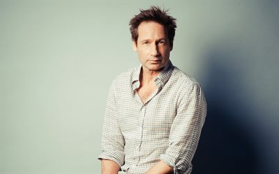 David Duchovny, american actor, portrait, photoshoot, Hollywood, popular actors