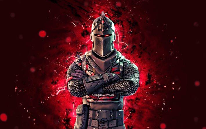 Download Wallpapers Black Knight 4k Red Neon Lights 2020 Games Fortnite Battle Royale Fortnite Characters Black Knight Skin Fortnite Black Knight Fortnite For Desktop Free Pictures For Desktop Free