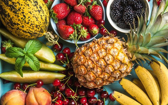 Resultado de imagen para la piña y los alimentos saludables