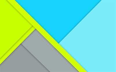4k, geometric shapes, strips, creative, lines, material design, abstract material