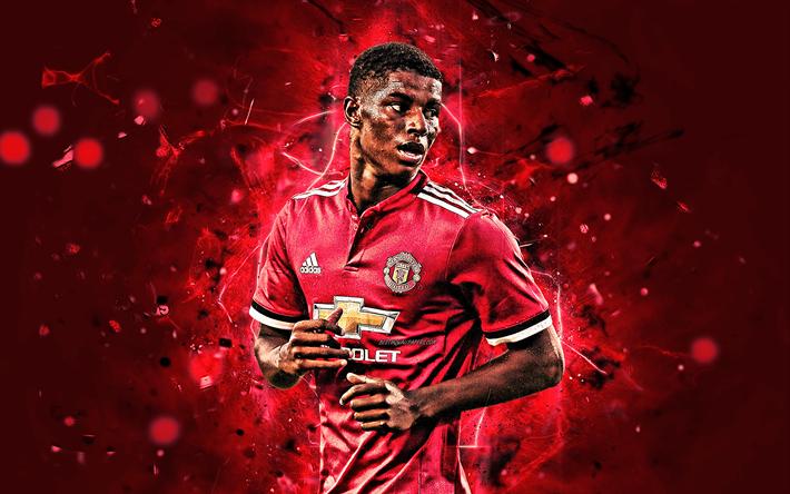 Sport Wallpaper Manchester United: Download Wallpapers Marcus Rashford, Forward, English