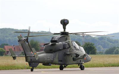 Eurocopter Tiger, modern attack helicopter, Luftwaffe, combat helicopters, Eurocopter, German Army