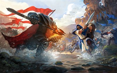Albion Online, 2016, war, soldiers, army, battle