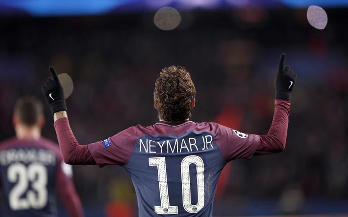Neymar PSG France Ligue 1 Football Goal Paris Saint