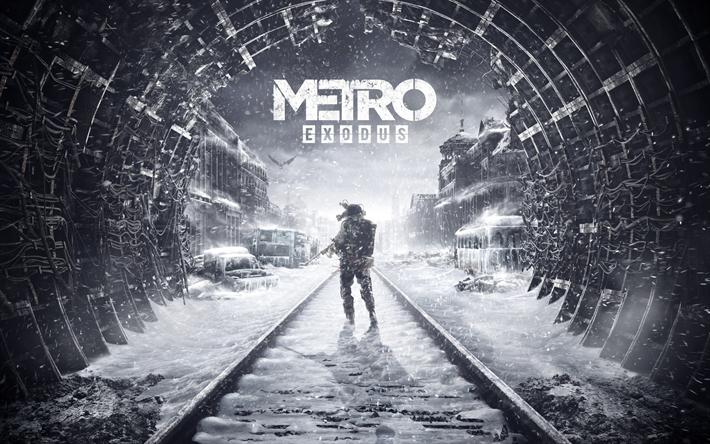 Descargar Fondos De Pantalla Metro Exodo 2018 Cartel Nuevos