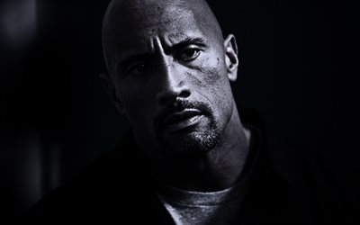 Dwayne Johnson, American actor, portrait, photoshoot, Hollywood, movie star