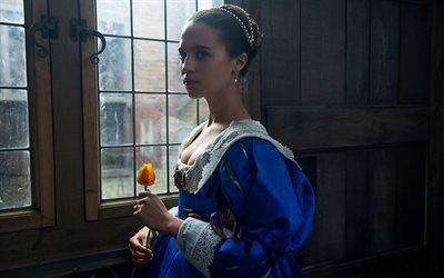 Tulip Fever, 2017, poster, Alicia Vikander, Swedish actress