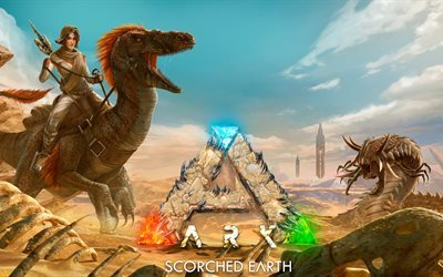 ARK, Scorched Earth, 2017, new games