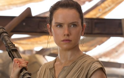Star Wars, The Force Awakens, Daisy Ridley, Ray