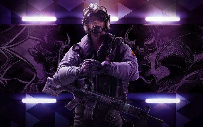 Download wallpapers Tom Clancys, Rainbow Six Siege