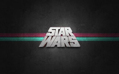 Star Wars, logotipo, mínimo, creativo